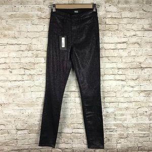Paige Hoxton Ultra Skinny Jeans Sz 24 Coated